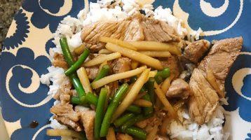 Pork Vegetable Stir Fry