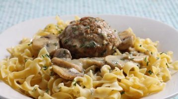 Turkey Swedish Meatball Muffins