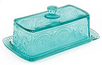 butter Dish Teal