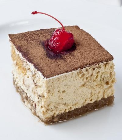 Dessert with Mascarpone Cheese