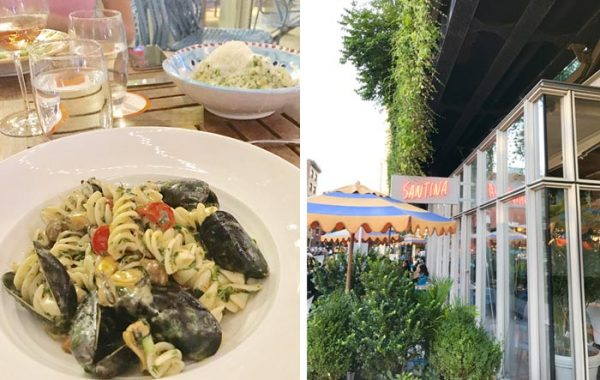 Santina Restaurant, Fusilli Santina