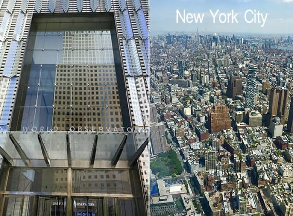 One World Trade Center and View