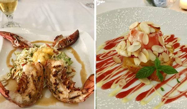 Plaza Cafe, South Hampton, Grilled Lobster