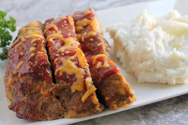 Easy Cheesy Cheese Meatloaf Recipe