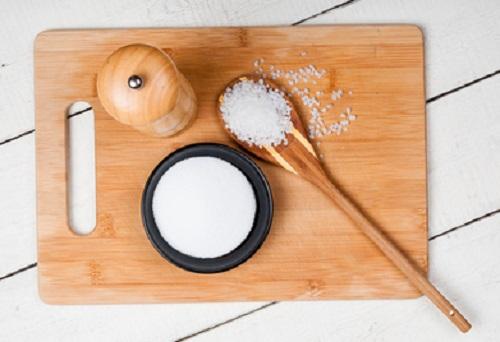 coarse salt vs. table salt