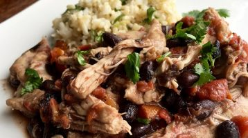 Slow Cooker Mexican Shredded Chicken