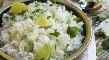 Cilantro Rice With Lime