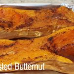 Cinnamon Butternut Squash Roasted in the Oven