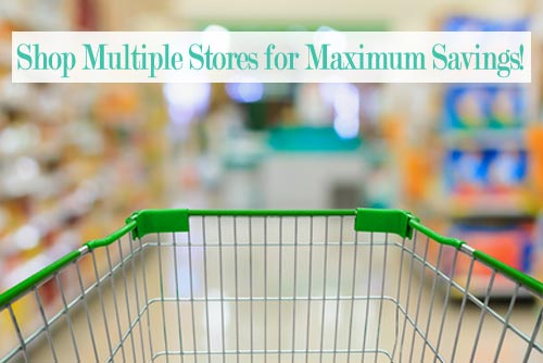 grocery savings at multiple stores
