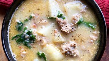 Tuscan Soup with Sausage and Potato