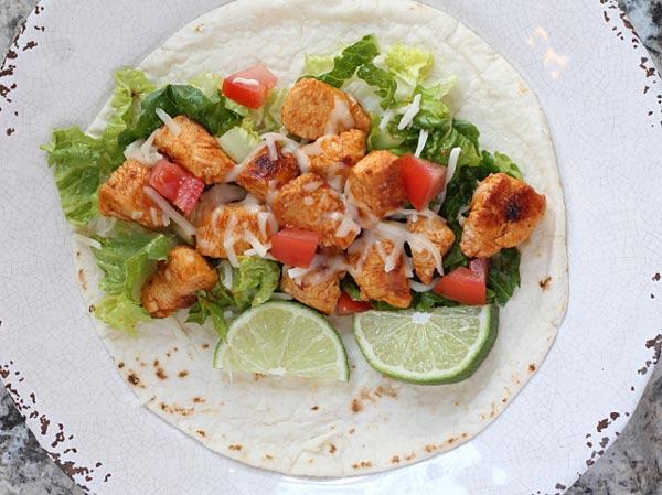 Baja Chicken Tacos