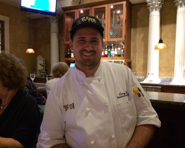 Chef Larry at Bravo Restaurant