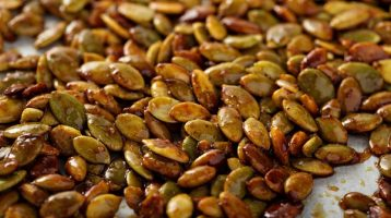 Roasted Spicy Pumpkin Seeds