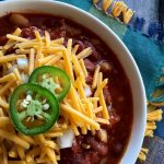 Spicy Crockpot Chili with Sausage