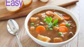 Easy Savory Beef Stew Recipe