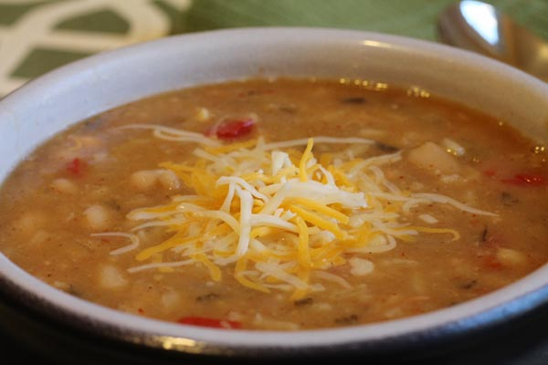 bean and rice soup