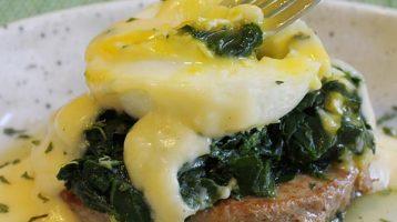 Poached Egg Florentine