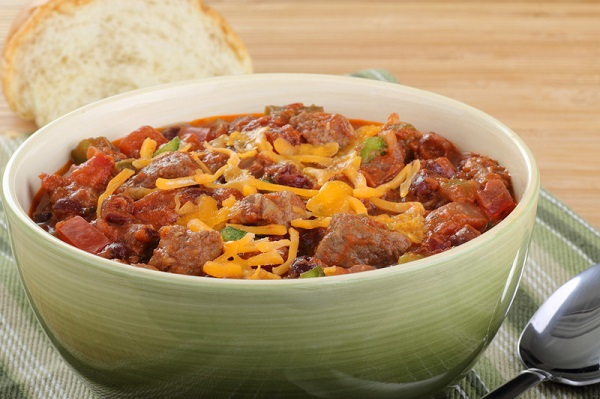 Bowl of Healthy Chili