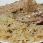 Pork Chops and Sauerkraut in Crockpot