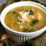 Spicy Turkey Soup with White Beans