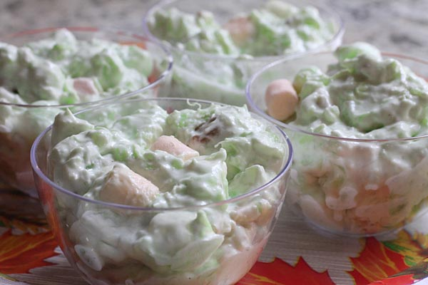 Holiday Watergate Salad