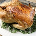 Garlic and Herb Whole Roasted Chicken