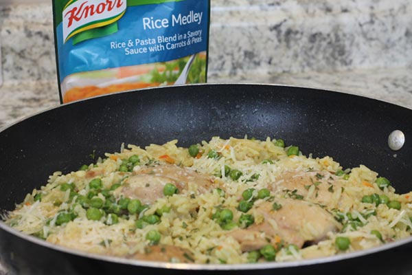 knorr recipe with chicken and rice