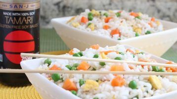 Fried Rice with Minute Rice