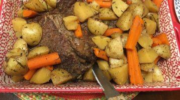 Seasoned Beef Roast Oven Slow Cooked
