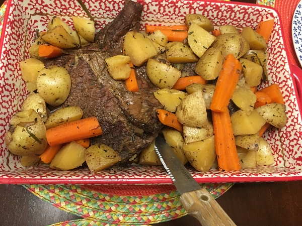 Seasoned Beef Roast Oven Slow Cooked