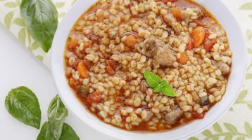 Healthy Old Fashioned Beef Barley Soup