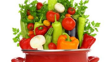 healthy cooked vegetables
