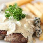Porterhouse Steak Recipe with Blue Cheese Sauce