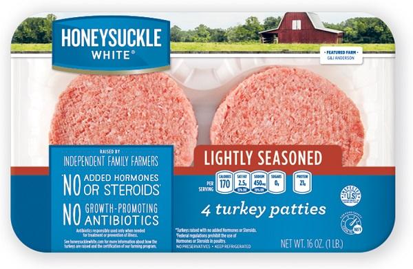 Honeysuckle Turkey Patties