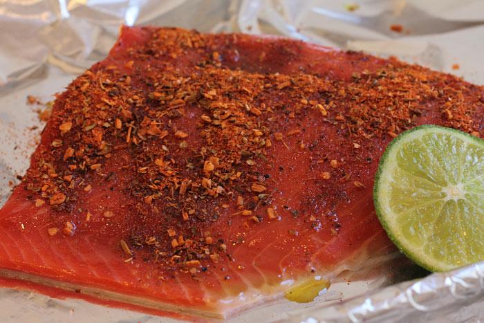 Fresh Atlantic Salmon for Tacos