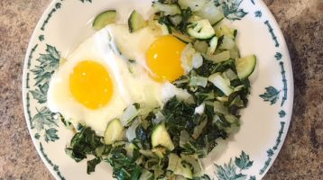 Egg with Bok Choy