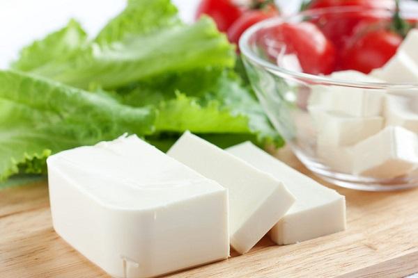 block of feta cheese