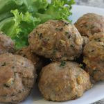 healthy turkey oatmeal meatballs