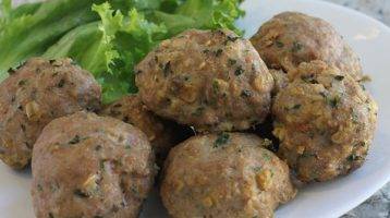 Turkey Oatmeal Meatballs Very Easy and Healthy