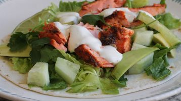 Easy Salmon Tacos for Dinner