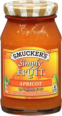 jar of smuckers simply fruit