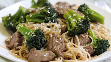Easy Beef and Broccoli with Noodles Recipe