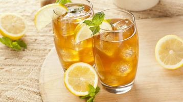 Healthy Iced Tea Glass