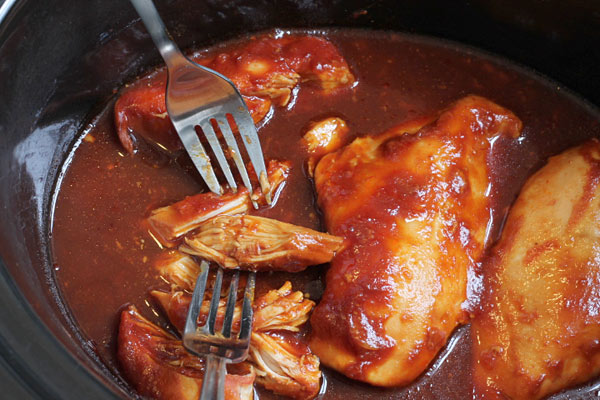 Sweet Chili Chicken in the Slow Cooker