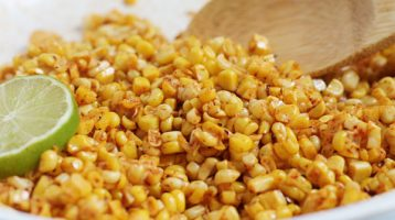 Fire-Roasted Corn for Corn Salad
