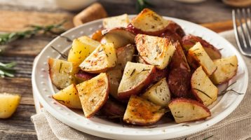 Oven Roasted RedSkin Potatoes with Herbs