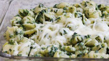 artichoke and spinach pasta