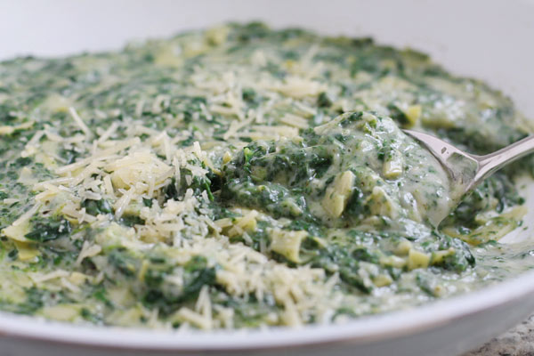 Looks just like artichoke and spinach dip