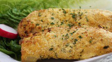Easy Cornmeal Coated Chicken Recipe