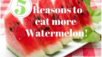 5 Reasons You Should Be Eating More Watermelon